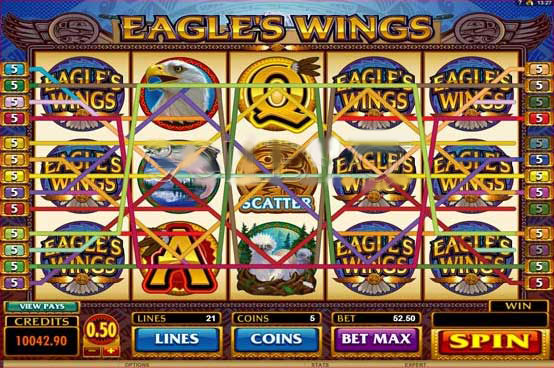 eagles wings line goldenslot