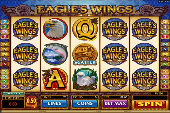 eagles wings สล็อตออนไลน์