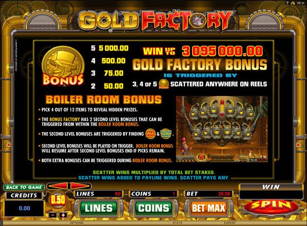 gold factory slot online